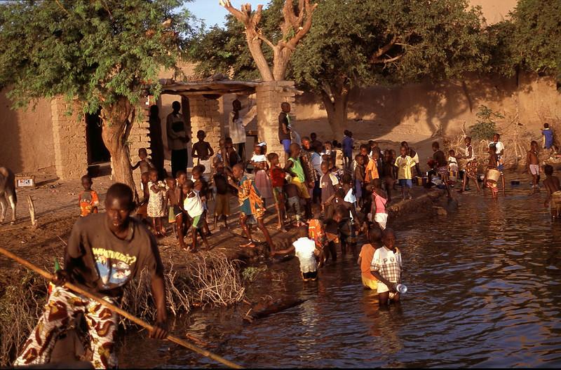 town of Niafounke (home of Ali Farka Toure) on the Niger