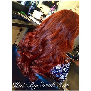 Sarah Ann bumps this color to the fullest!    You always leave our Salon feeling even more beautiful than when you came!