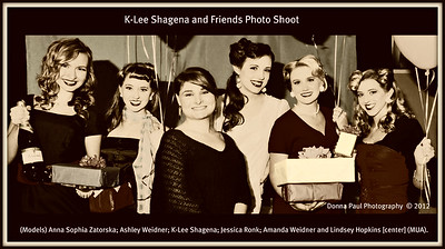 K-Lee and Friends Pinup Shoot