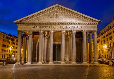 Pantheon - morning