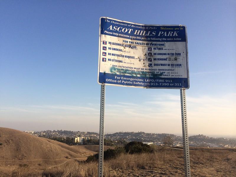 2014, Hilltop Sign