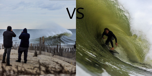 When to Shoot Vs When to Surf