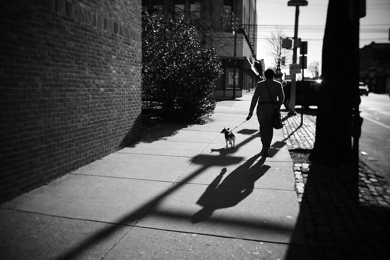 Walking the Dog---Philadelphia, PA