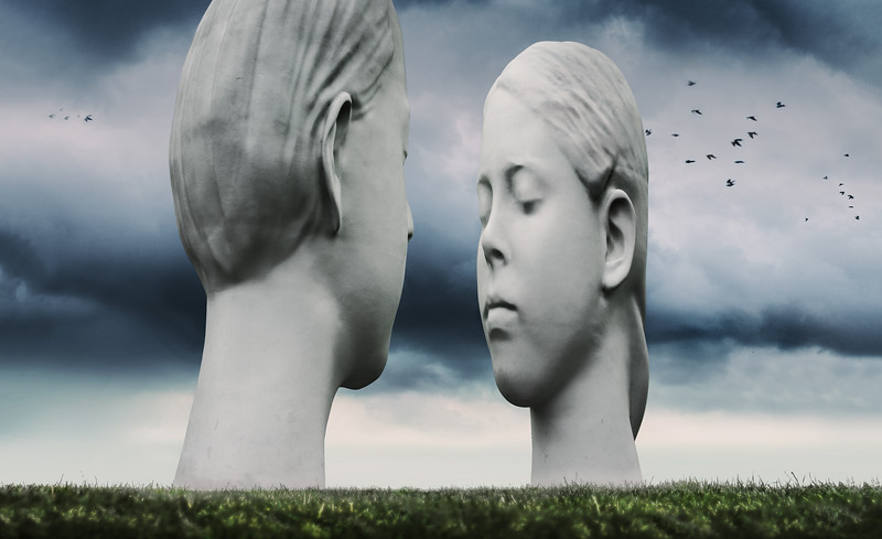Sculpture 'Love' - Jaume Plensas