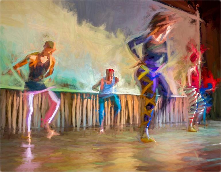 Dance Rehearsal Cuba