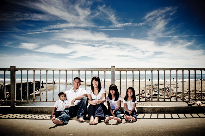 Estella + Greg = Anyssa > Jasmin > Greg (Family Photography, Seacliff Beach, Aptos, California)