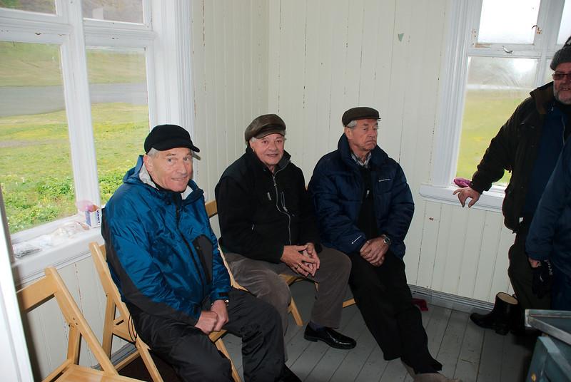 Hilmar, Sveinn og Herbert.
