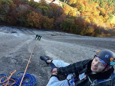 Rock Climbing: November