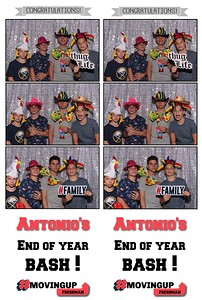 Antonio's end of year BASH !