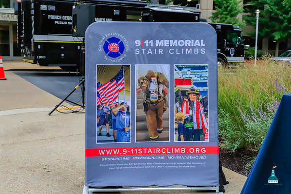 9-11 Memorial Stair Climb PG County Maryland
