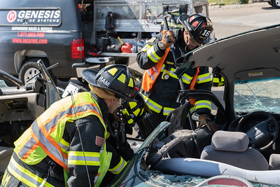 August Extrication Training