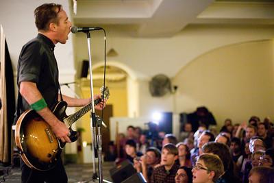 Ted Leo & The Pharmacists, Sacred Heart Church, Washington DC, 11/12/2011
