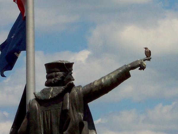 Christopher Columbas bird rest Newburgh Landing