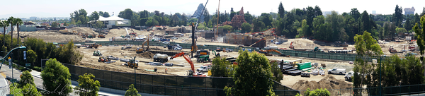 Disneyland Resort, Disneyland, Star Wars Land, Star, Wars, Land, Construction, Mickey, Friends, Parking, Structure