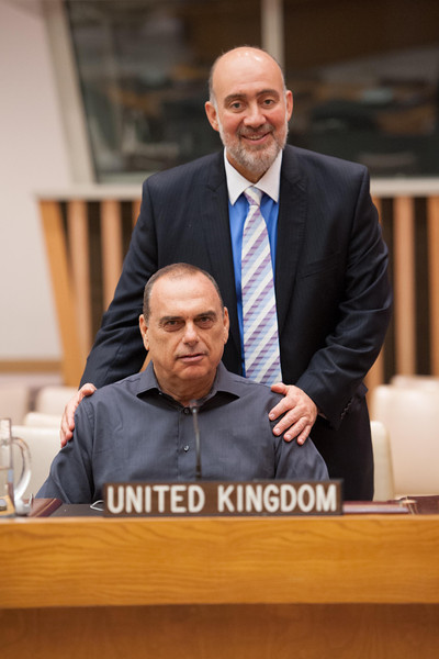 United Nations visit Avram Grant Ron Prosor