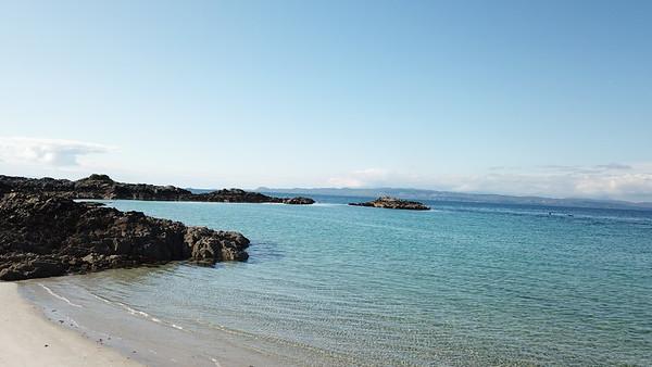Camusdarach Day mid tide