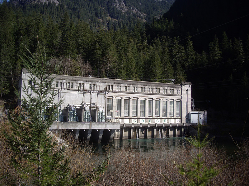 Seattle City Light hydro plant.