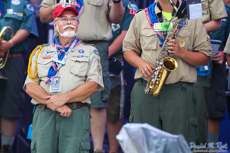 George Pinchock, Director of the National Scout Jamboree Band