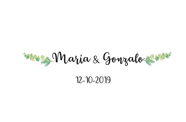 María & Gonzalo - 12 octubre 2019