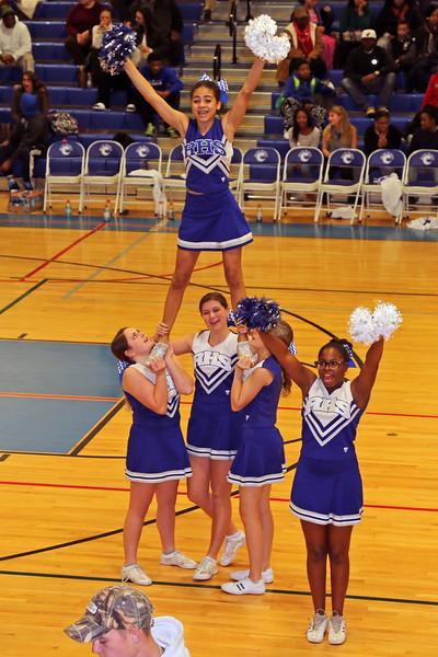 Riverhead HS JV Cheerleading 12-18-14