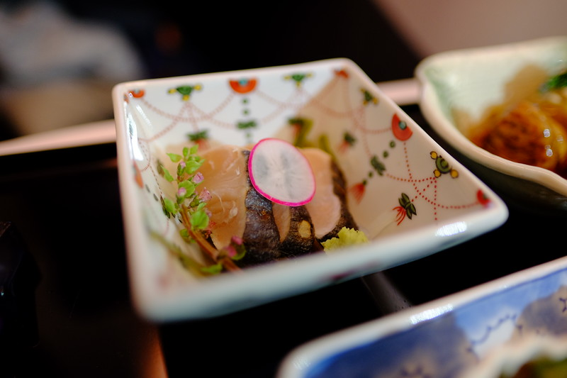 ANA Flight - Food (Tokyo to Seattle)