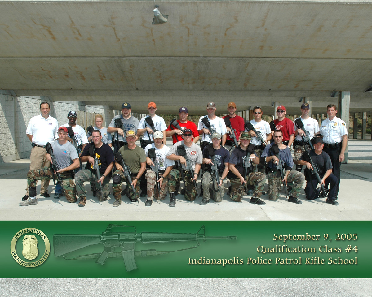 5th rifle class 9-9-2005