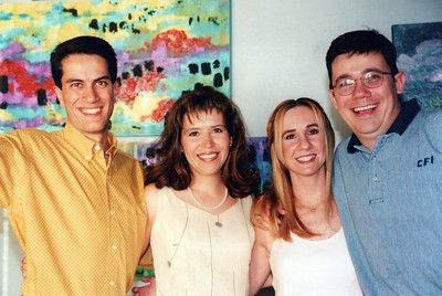 8-27-1999 Eduardo C & Jorge R Farewell to CFI Logistica, Mexico