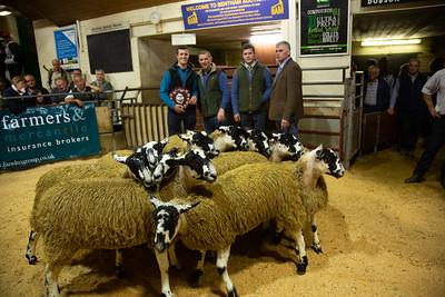 Bentham Gimmer Lamb Prize winners 2018