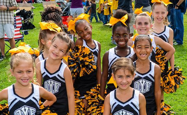 Yellow Jacket Cheerleaders
