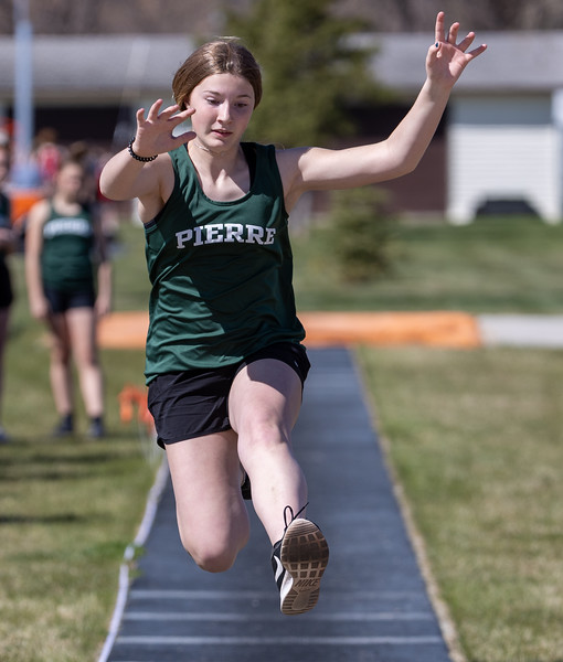 Middle School Track in Huron - Apr 29 2021