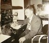 Radio station employee 1950s