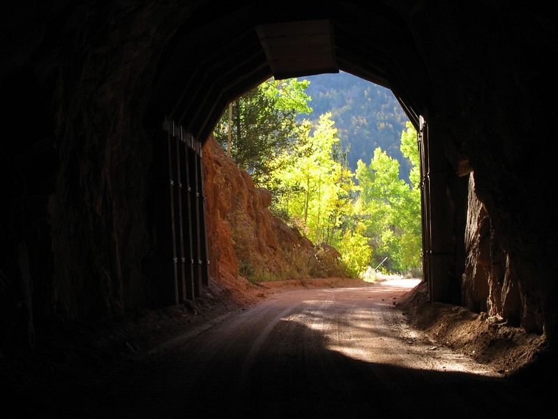 Tunnel #9 at Clyde Ghost Town