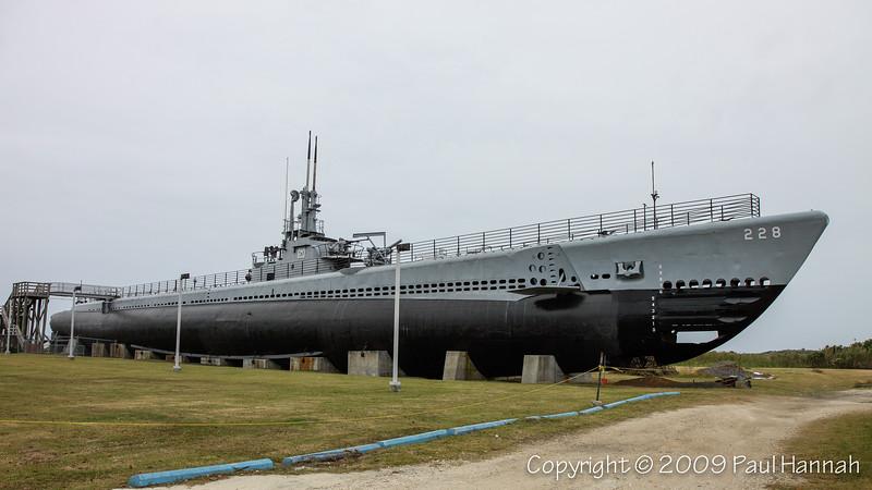 USS Drum (SS-228), Gato Class - Mobile, AL