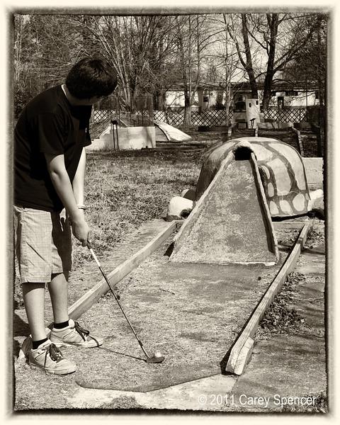 Mini Golf Photography