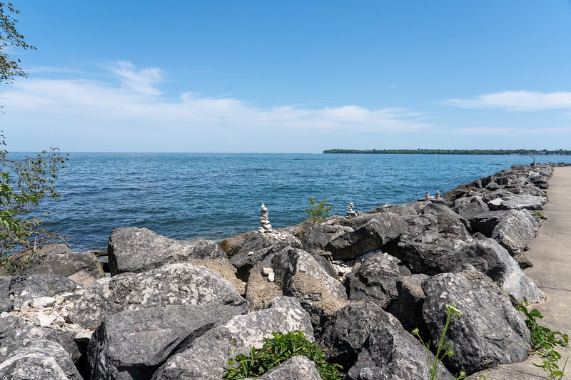 Kelleys Island on Lake Erie
