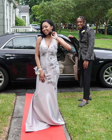Cartrice and Jalen Pre Prom Photoshoot
