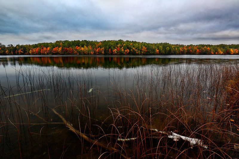 Autumn Evolve - Moccasin Lake (Hiawatha National Forest - Upper Michigan)