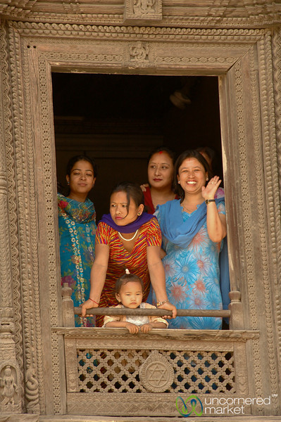 Watching the Scene Below - Kathmandu, Nepal