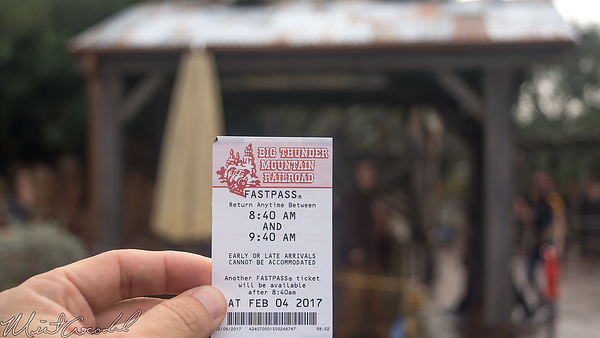 Disneyland Resort, Disneyland, Frontierland, Big Thunder Mountain Railroad, Big Thunder, New, Entrance, Structure, FastPass, Fast Pass, Fast, Pass