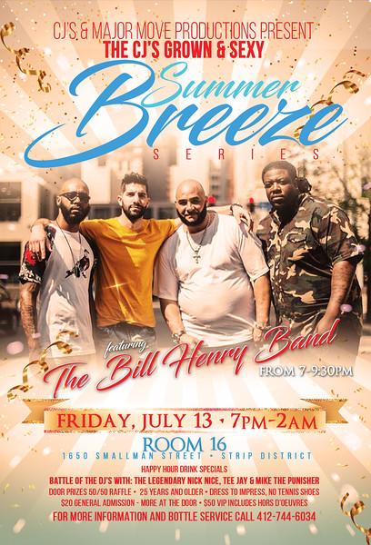 CJ's Summer Breeze Series - July