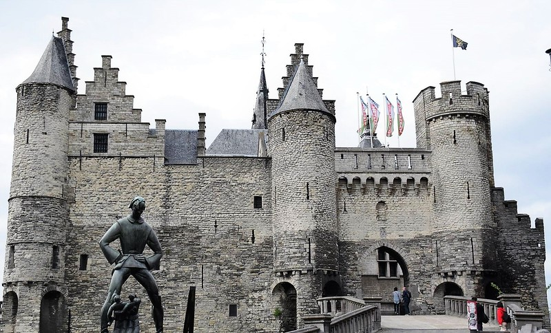 steen castle antwerp