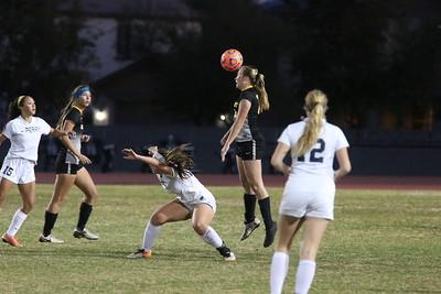 2016-2017 Gilbert Girls Soccer @ Perry - State Tournament 2-1-17