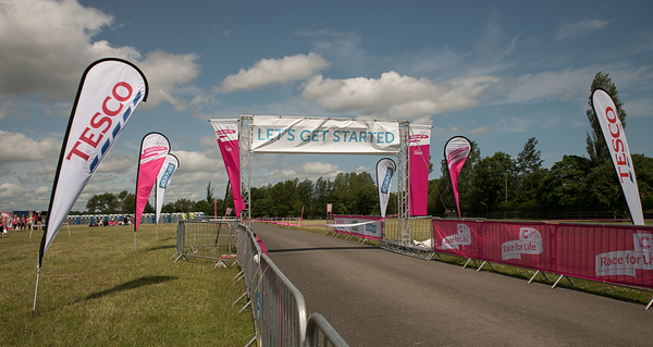Race for Life, Newcastle July 2015