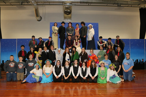 Lincolnwood Drama Club - Mary Poppins