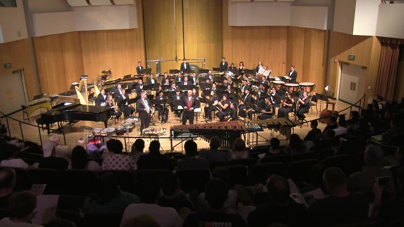 Johnathan Grant, Base Trombone Soloist & Fresno State Wind Orchestra