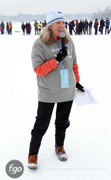 2011 City of Lakes Loppet - Chuck & Don's Skijoring 2-5-11