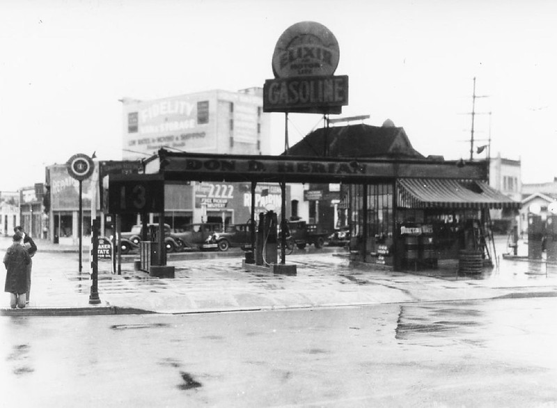 Elixir Gas Station, February 3, 1936