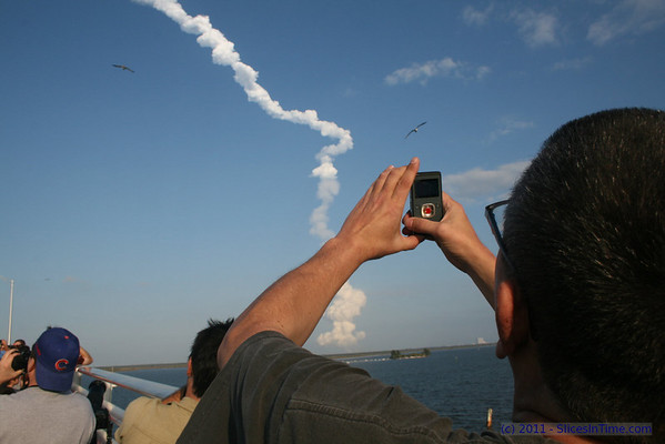 Launch of Space Shuttle STS-133