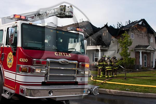 Building Fire - Chili, NY 5/10/12