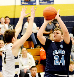 St.  John at Conneaut boys basketball